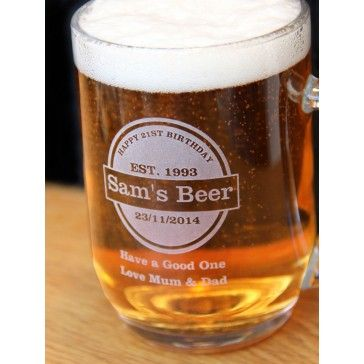 Pint Tankard Beer