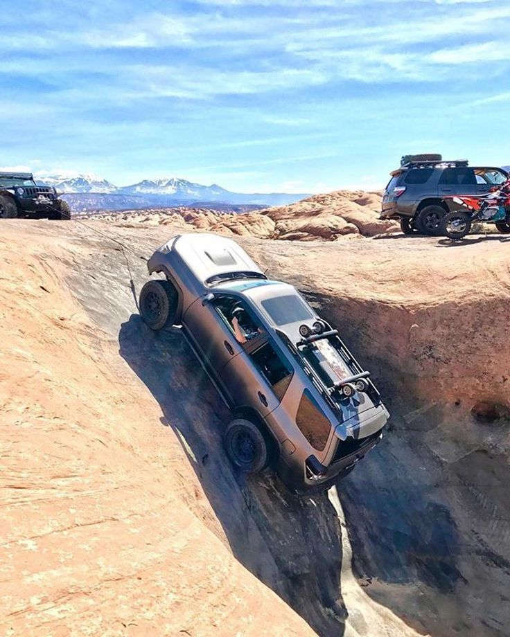 Toyota Utah: Mickeys Hot Tub Winch Out, Moab UT