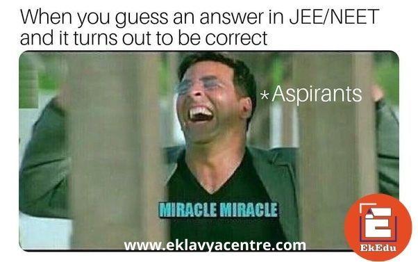 Funny Memes Of Jee Neet Students In 2021 Student Memes Chemistry Jokes Physics Memes