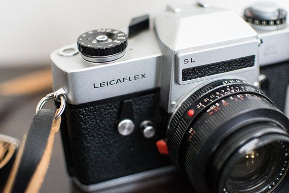 Leicaflex SL Vintage Film Camera by CheerfulCollections on Etsy