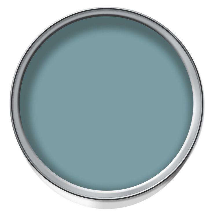 Wilko Colour Silk Emulsion Paint Dark Duck Egg 2.5L at wilko.com