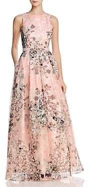 Eliza J Organza Floral Gown #affiliatelink