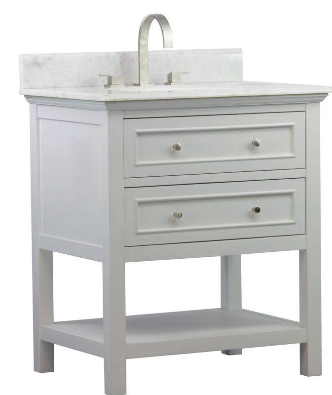 Mincio 30 Single Bathroom Vanity Set Bathroom Vanity Single