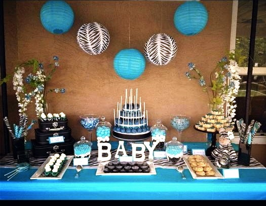 Baby Shower Sweet Table Ideas baby shower dessert table sweet table ideas for baby shower Boy Baby Shower Dessert Table Display Decorations Pinterest Baby Shower Sweet Table Ideas