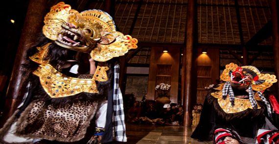 Barong Dance at Alila Ubud