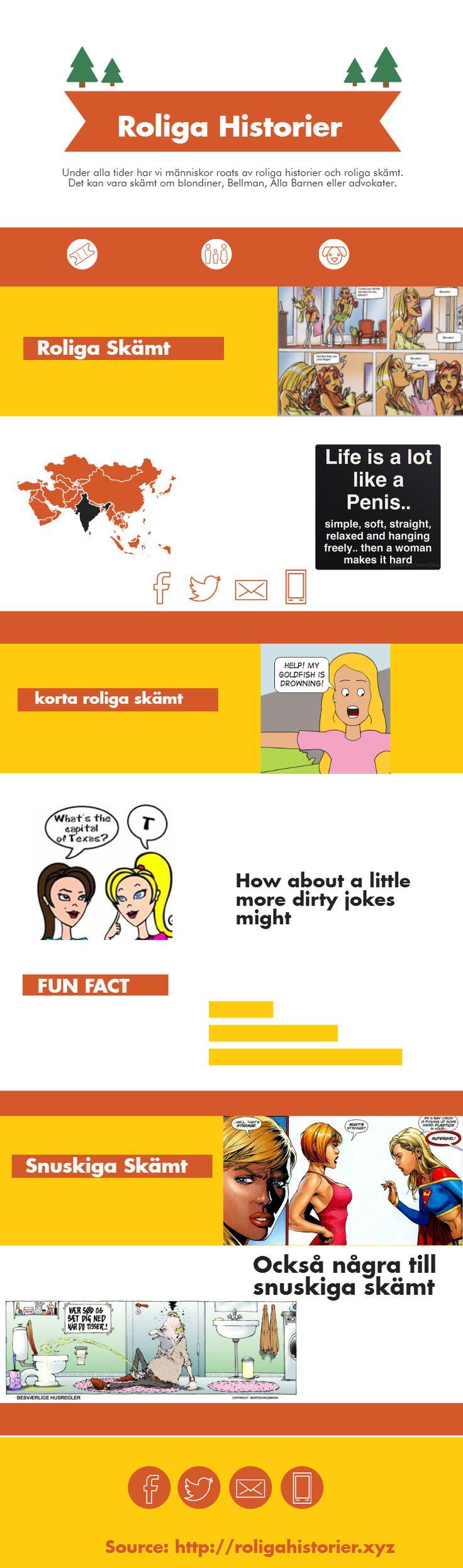 Under alla tider har vi människor roats av roliga historier och roliga skämt. Det kan vara skämt om blondiner, Bellman, Alla Barnen eller advokater.