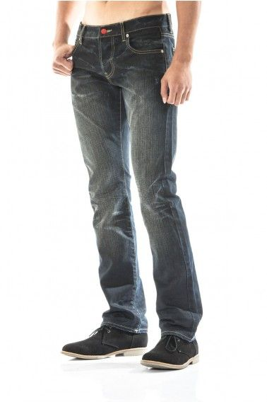 the perfect storm. midnight jeans in dark indigo. hand shaved stone wash coated.