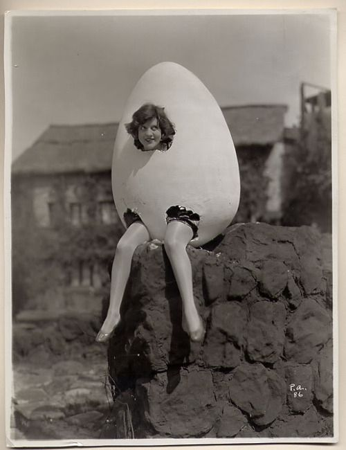 Patricia thought that dressing as Humpty Dumpty was the very best way to meet all the King's men.