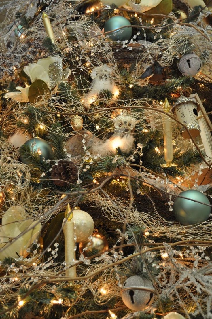Woodland Christmas Tree Decorations Pinterest Trees