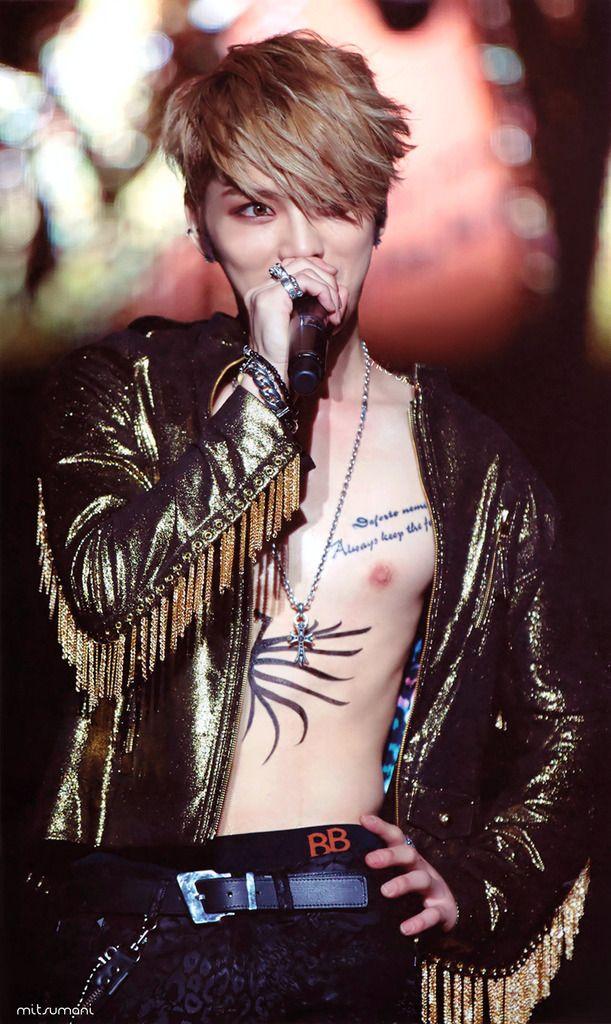 jaejoong tattoo butterfly - photo #9
