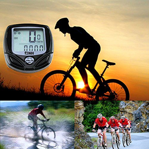 Wolfride Cyclists Wireless Backlight Bicycle Computer http://www.aegisbicycles.com/best-bike-equipment-for-riding/