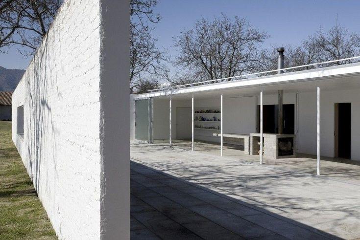 Smiljan Radic . Casa Chilena 1 y 2 . Los Lirios  (15)