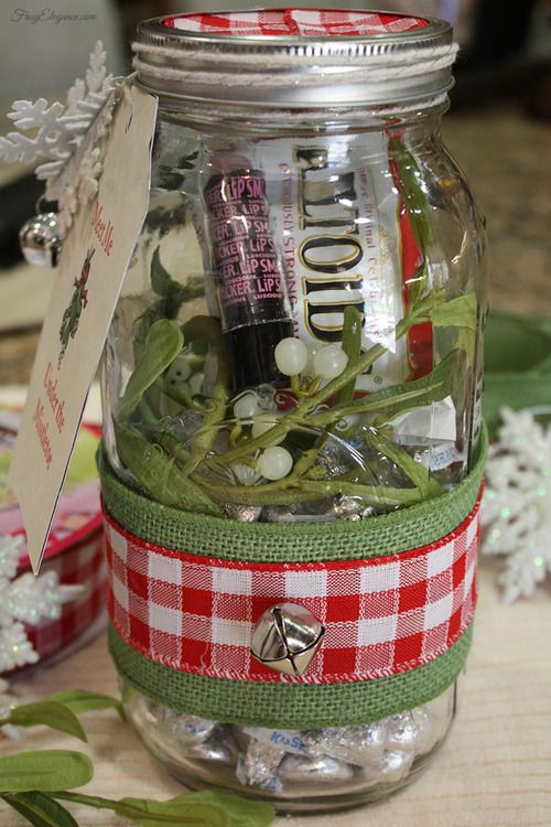 How To Decorate Mason Jars For Christmas Gifts Awesome 170 Best Gift Ideas Images On Pinterest  Crafts Bricolage And
