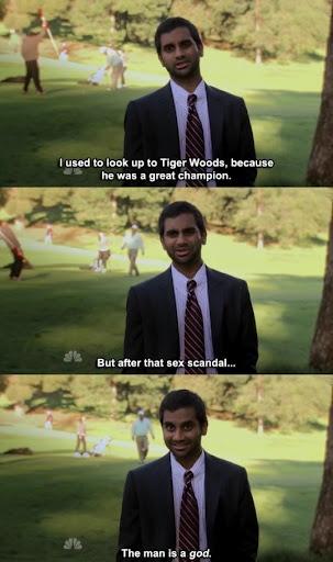 Oh Tom lol... I love Parks n Rec