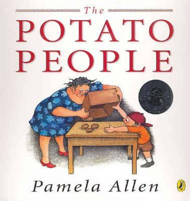 The Potato People  - Pamela Allen - One day Grandma and Jack make two people out of potatoes. When Jack moves away, Grandma misses him and the potato people wither. She buries them in the garden and a huge potato plant grows. When Jack returns to see it, it has died, but underneath it they discover hundreds of new potatoes