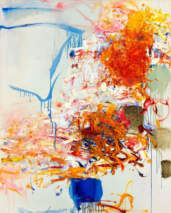 tumbleword:  Joan Mitchell  Untitled, 1969Oil on canvas161/9 x 129/9 cm / 63 3/4 x 51 1/8