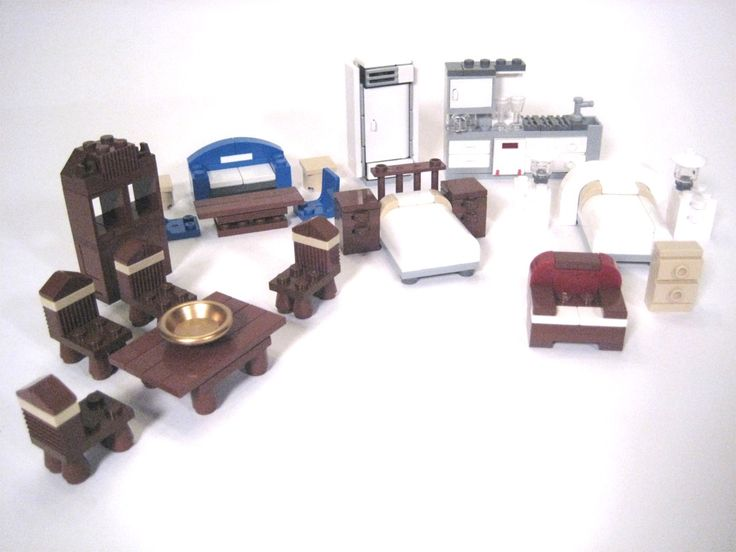17 Best Images About Lego Furniture 2 On Pinterest