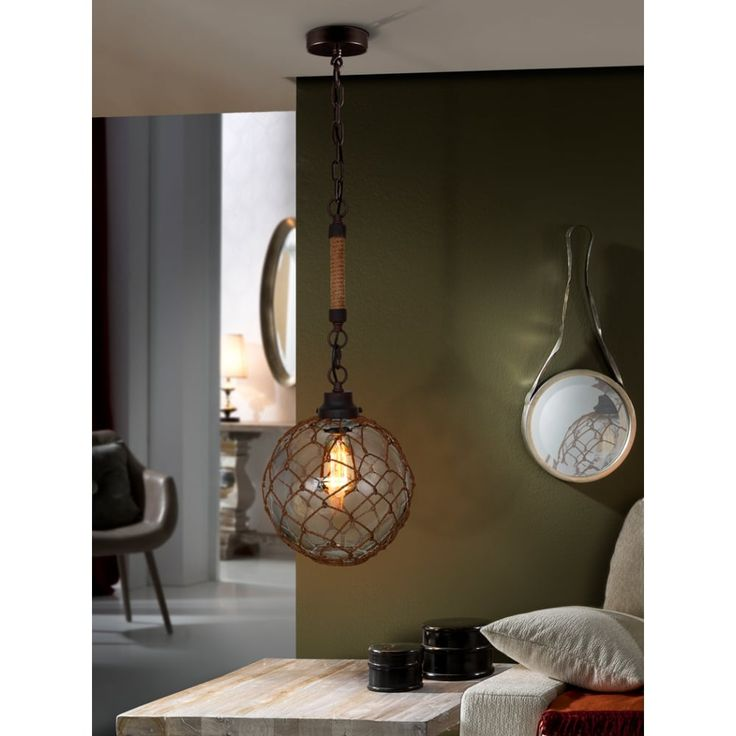 The Laze Cafe Net Ball Ceiling Light Pendant will add that industrial rusty edge to your rooms decor, suitable for cafe's, restaurants or Living rooms. #ideas4lighting #clanyrelighting #pendants #tablelamps #art #design #floorlamps #eglo #2017 #ceilinglights #lighting #crystal #chrome #diamonds #cafe #restaurant #business #lights #future #outdoorlighting #outdoor #concrete #bathroom #bathroomlighting #mirrorlighting
