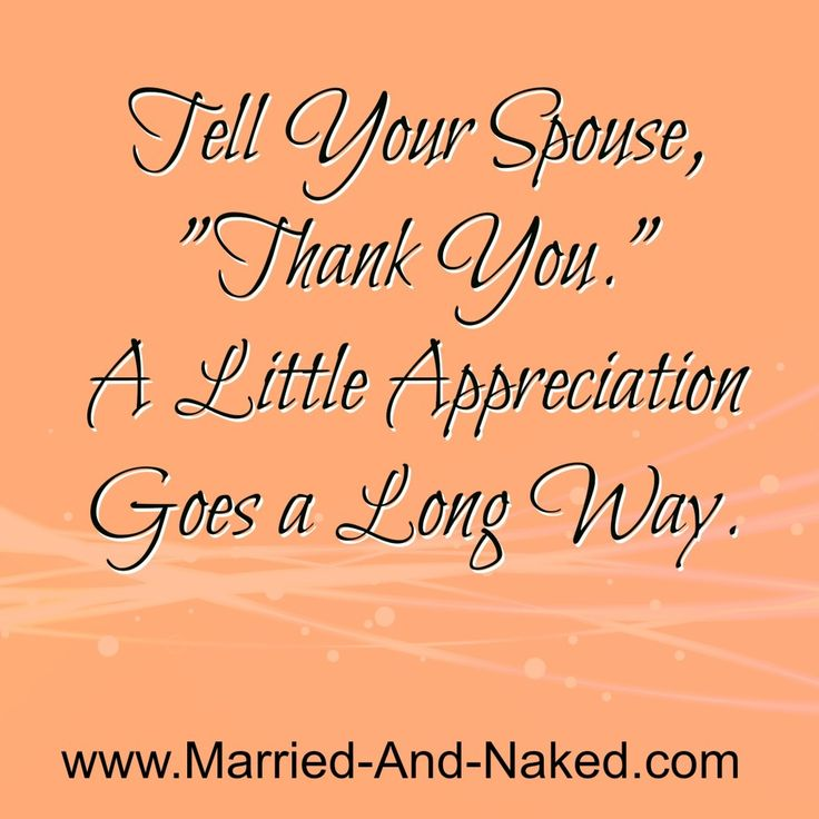 tell marry your spouse