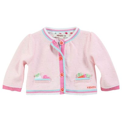 Kenzo Kids - Pale pink cardigan - 30229