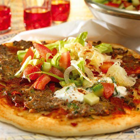 Türkische Pizza mit Salat (Lahmacun) Rezepte | Weight Watchers