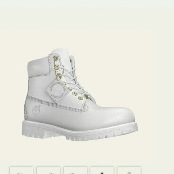 ISO!!! All white timberland boots Timberland Shoes