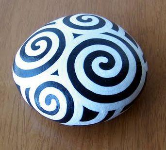 Painting on rocks by Judy ng at Coroflot.com