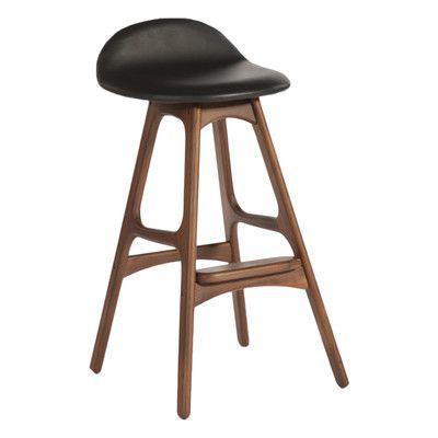 "Aeon Furniture Torbin 25.5"" Bar Stool & Reviews | Wayfair"