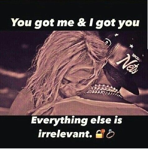 U Got Me N I Got U..Everything Else Is Irrelevant!                    ♡Ṙ!dĘ╼óR╾D!Ê♡