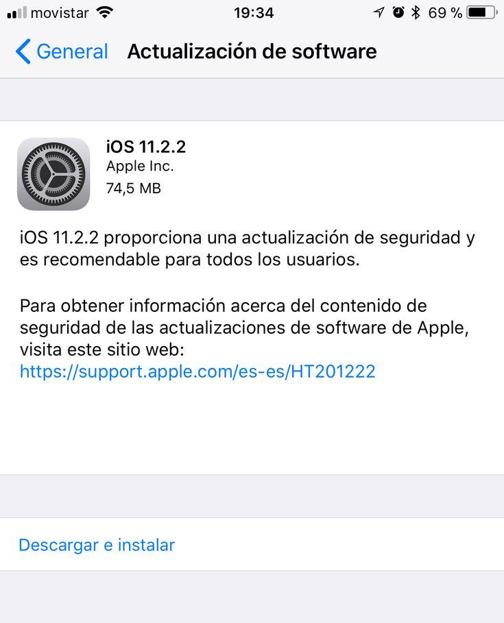 Apple lanza actualizaciones para macOS High Sierra 10.13.2 y iOS 11.2.2  #Apple #iOS #macOSHighSierra #SistemaOperativo #Virus