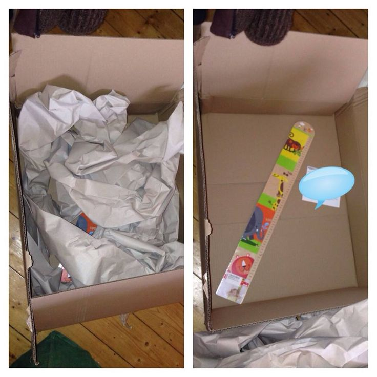 Sarah Purcell Huge box and loads of packaging for one item!