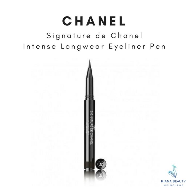 CHANEL Signature de Chanel - Intense Longwear Eyeliner Pen Intense, satiny and waterproof. Buy online CHANEL eyeliners and makeup from Australian stockist with FREE SHIPPING over $50, Afterpay available.