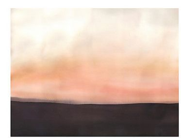 """Floodline Series No. 51 by Lisa Golightly  $250  This painting measures 22""""x30"""" and was created using acrylic paint and fabric dye on beautiful paper. It is signed and dated on the back"""
