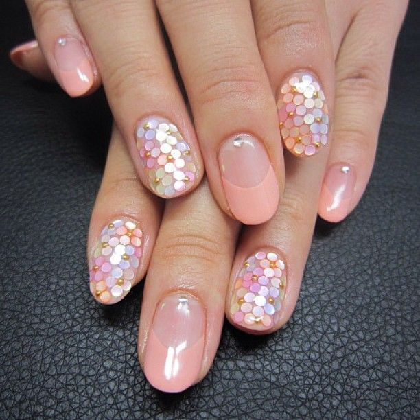 #nail#nails#nailstagram#nailart#beige#flower#flowers#pink#frenchnails#naildesign#ネイル#ネイルアート#フレンチ#フラワー#花#お花#ベージュ#ピンク - mrnabbyyy @ Instagram ...