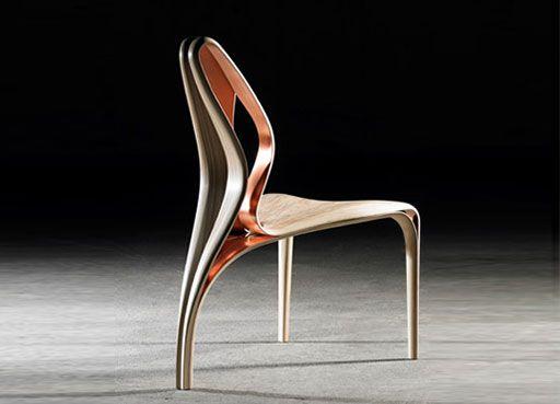 Enignum IV Copper ChEnignum IV Copper Chair