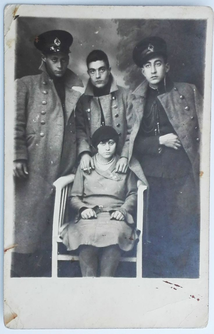 Old snapshot 1930's strange photo of Turkish soldiers with sad woman men uniform officers military curiosa ORIGINAL vintage photo by PhotoMemoriesLane on Etsy
