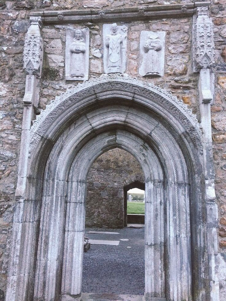 Whispering Arch, Clonmacnoise Monastery