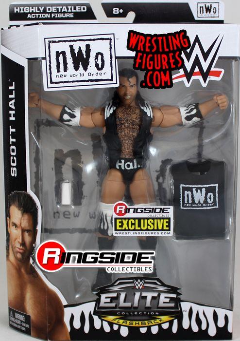 NWO/WWE RINGSIDE EXCLUSIVE ELITE SCOTT HALL FIGURE