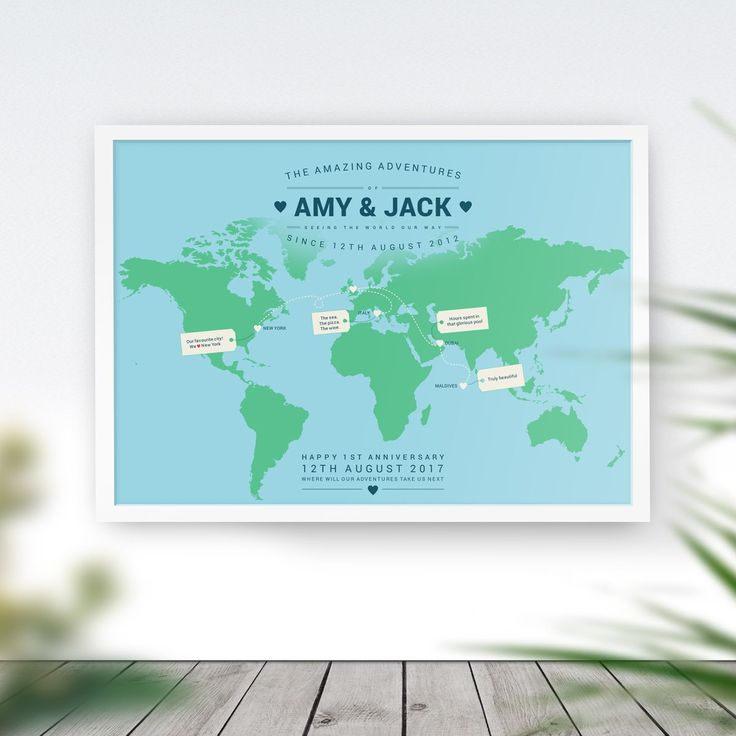 173 best personalised travel maps world travel maps photo maps personalised world travel map gumiabroncs Image collections