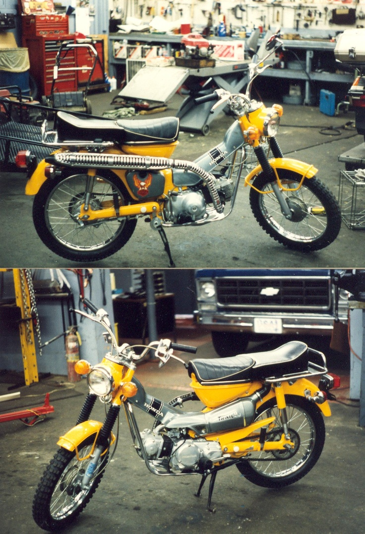 Honda CT90 That I did for a fellow