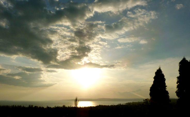 Balaton-naplemente
