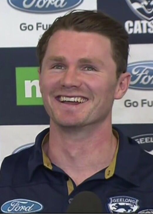 Welcome home to Geelong Patrick Dangerfield