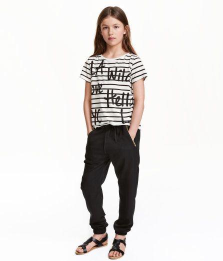Joggers   Sort   Børn   H&M DK