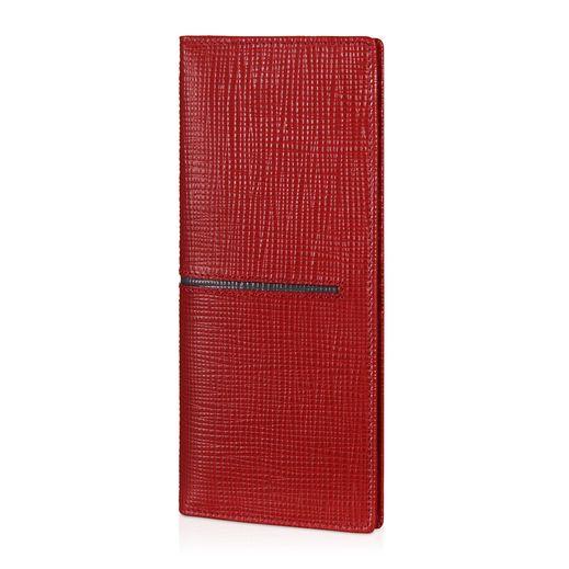 Vertical Wallet in Leather XAMACHB7300NPH00W7 - 1
