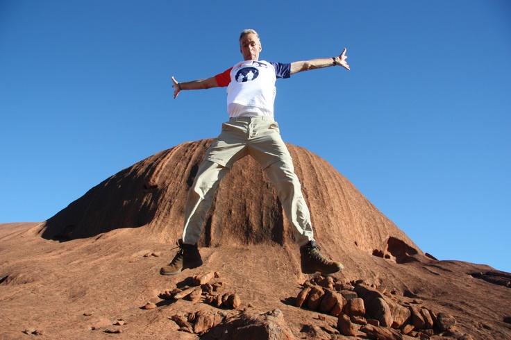 Willem Dijkema van team de Almelopers in Australië.