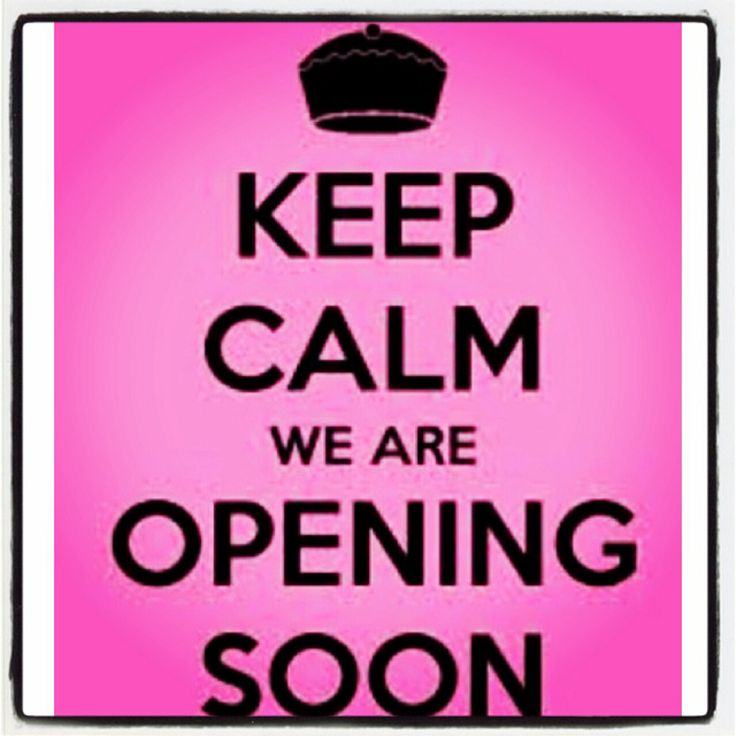 Keep calm, we are opening soon! #romylos