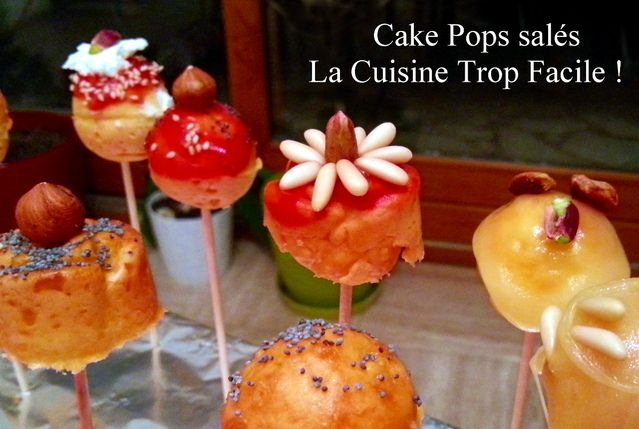 Cake Pops Salés / Salted Cakes pop