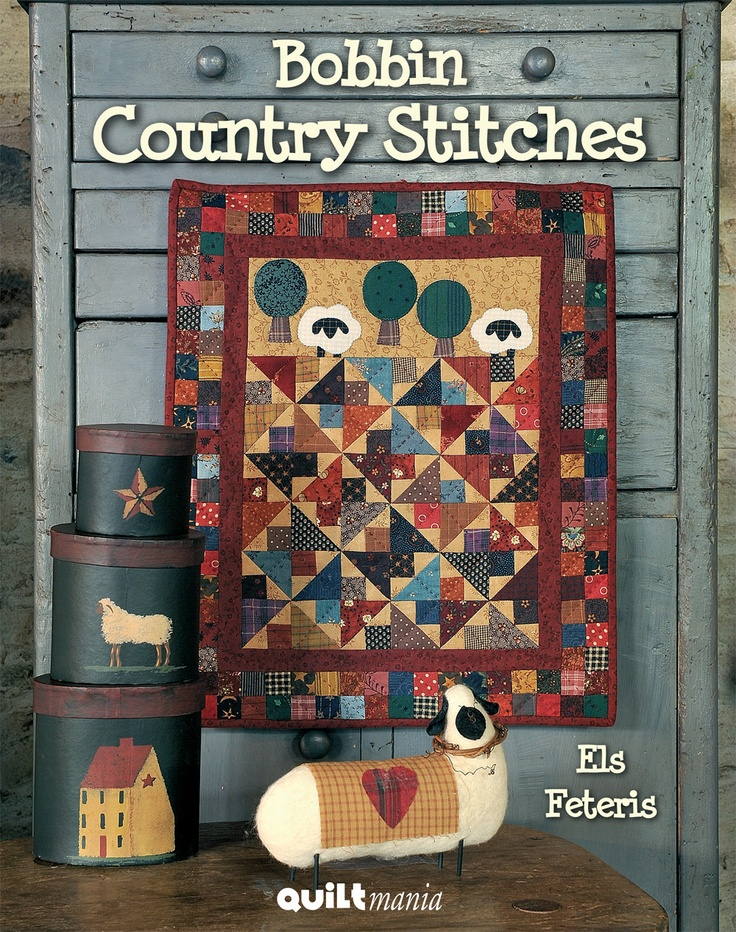 Bobbin Country Stitches - Els Feteris