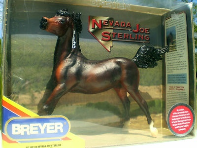 "Breyer ""Nevada Joe Sterling"" 2002 TSCBreyer Models Hors"