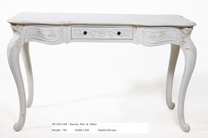 French Ladies Desk 3 Drawer | Country Interiors http://www.countryinteriors.com.au/product/ht041awp-french-ladies-desk-3-drawer/